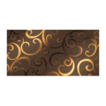 Mark Moka Gold Damask